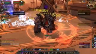 В WoW: Лицар Смерті (ДК) геймплей 2017 - світ Warcraft | Легіон 2017 геймплей