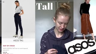 ASOS Try-On Haul (Tall)