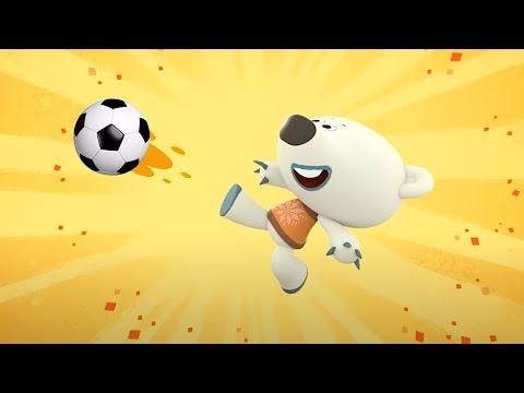 Мультик 🐻  МИ-МИ-МИШКИ - Чемпионат по Футболу ⚽  Мишки футболисты! 🏆