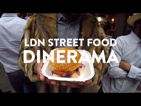 MUST TRY LONDON STREET FOODS | Dinerama Shoreditch