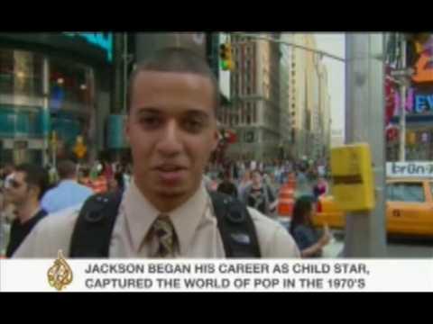 Fans react to Michael Jackson's death - 26 June 09