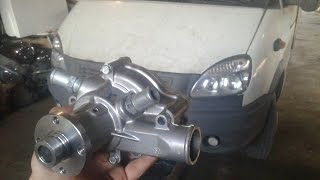 Замена помпы на газели двигатель 4216 (водяной насос)(Подробный видео-урок по замене водяного насоса на газели бизнес двигатель 4216 евро 4., 2015-09-14T06:33:30.000Z)