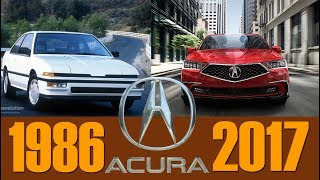 ACURA FULL EVOLUTION 1986 - 2017