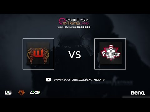 Invisible Wings vs Team FG | Round of 32 | ZOWIE eXTREMESLAND ASIA CS:GO 2016 Indian Qualifier
