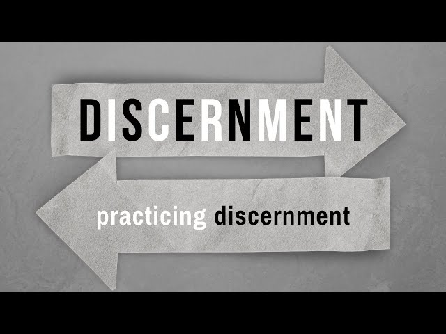 Practicing Discernment: How to Know God's Will - Selected Scripture (Pastor Robb Brunansky)
