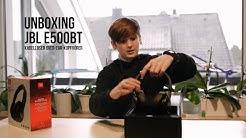 unboxing JBL E500BT - Over Ear Kopfhörer, Bluetooth, Deutsch