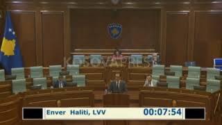 Vazhdon seanca për raportimin e kryeministrit Hoti