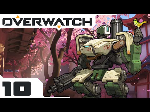 Splash Damage For Fun & Profit! - Let's Play Overwatch Multiplayer - PC Gameplay Part 10