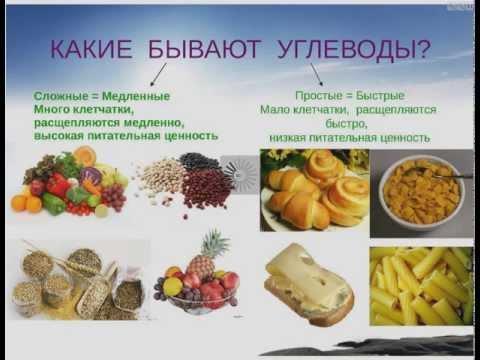 Сбалансированное питание. Углеводы и гликемический индекс.