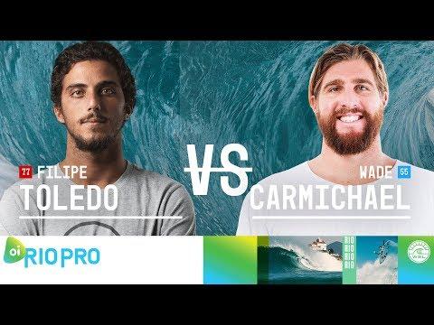 Filipe Toledo vs. Wade Carmichael - FINAL - Oi Rio Pro 2018
