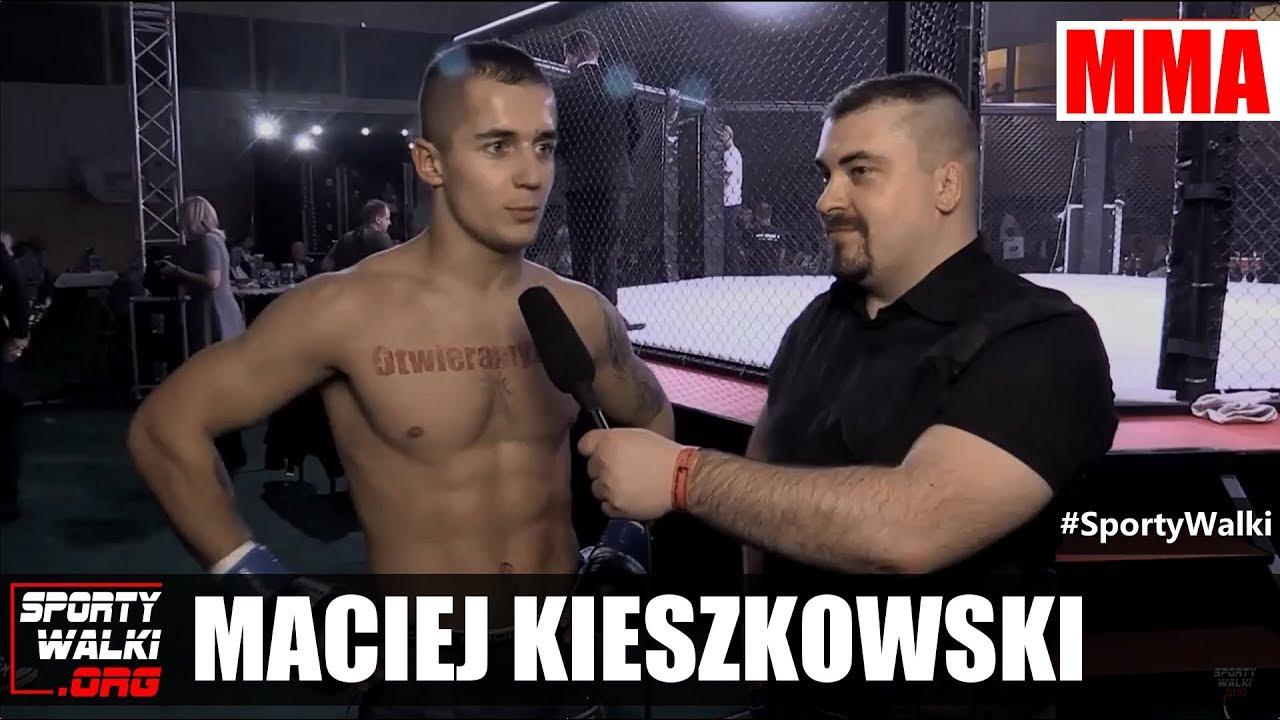 GN5: Maciej Kieszkowski po gali w Mińśku Mazowieckim