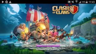 Clash of clan (descentada😢 en MDO)