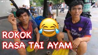 Gambar cover TAHAN TAWA..!! 🤣 HIPNOTIS PEROKOK PAKAI RASA TAI AYAM...!!!