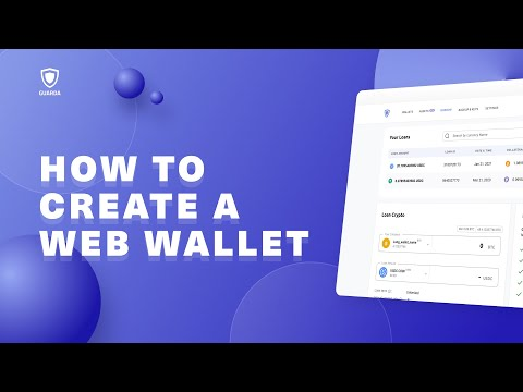 How to Create a Guarda Web Wallet