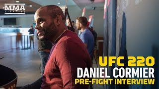 Daniel Cormier To UFC 220 Opponent Volkan Oezdemir: 'You Know You're Screwed, Right?' - MMA Fighting