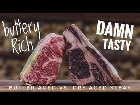 Butter aged Steak vs Dry aged Steak ... Which is best?