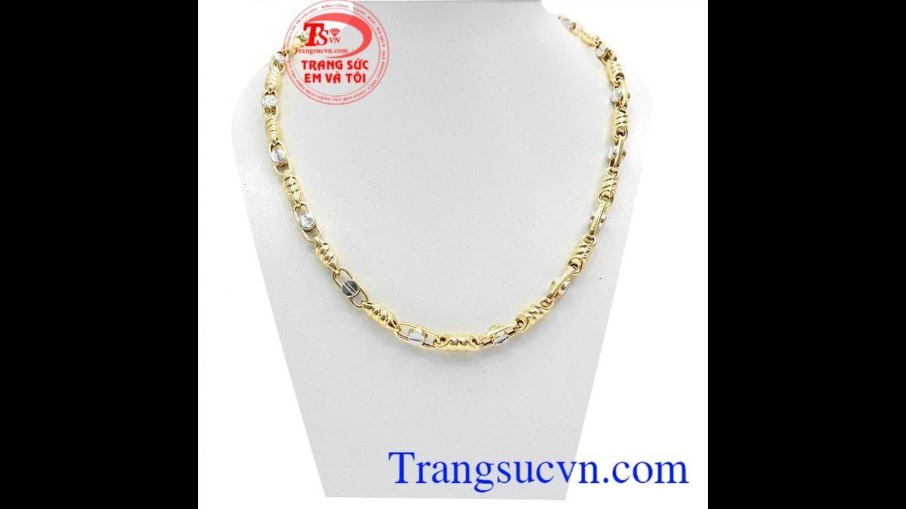 Dây chuyền nam thời trang, dây chuyền nam vàng tây, Gold Necklace, TSVN018946   Bao quát những nội dung liên quan đến thoi trang day nam đúng nhất