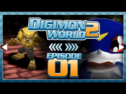 Digimon World 2 - Episode 1 : Boot Domain & Gold Hawks!