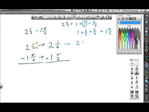 5th 6.7 Subtraction with Renaming - YouTube