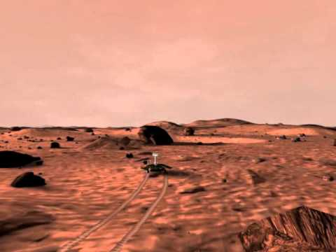 Opportunity Rover On MARS Surface aep