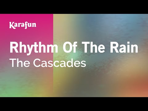 Karaoke Rhythm Of The Rain - The Cascades *