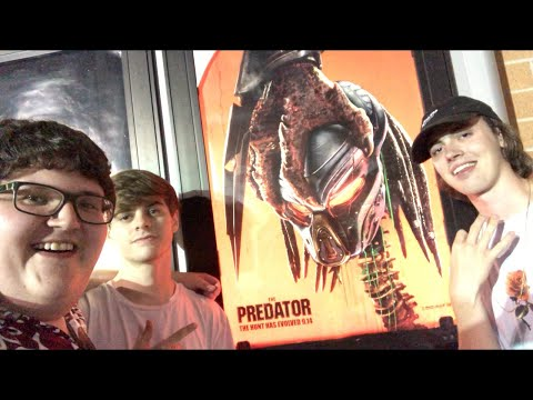 BLU-RAY HUNTING/THE PREDATOR MOVIE REVIEW