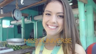 Tasting Street Food with Miss Universe Contestants