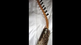 Egyptian Folk Song Played on African Harp