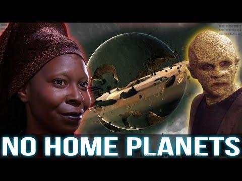Species Who Lost their Homeworlds (Star Trek)