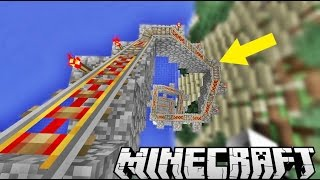DAĞA RAY ÇEKTİK | Minecraft Gizemli Dağ | Bölüm 9