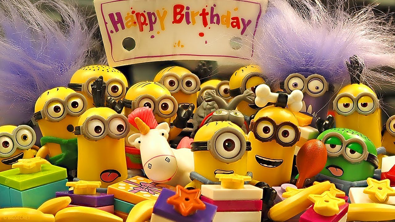 happy birthday minions  youtube
