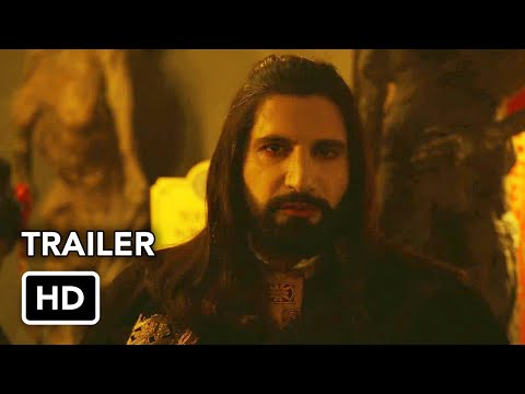 What We Do in the Shadows Season 3 Trailer (HD) Vampire comedy series