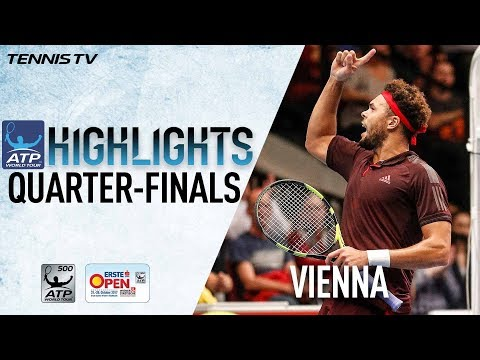 Highlights: Tsonga Ousts Zverev In QF Vienna 2017