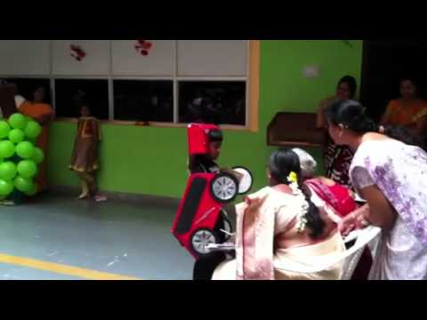Shreyas Car Fancy Dress YouTube