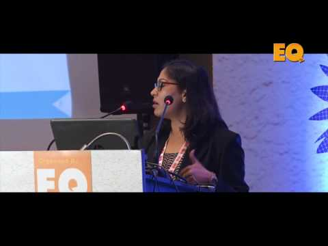 Monika Rathi, Head Product BD, Mahindra Susten at EQ Solartech Leadership Summit, New Delhi