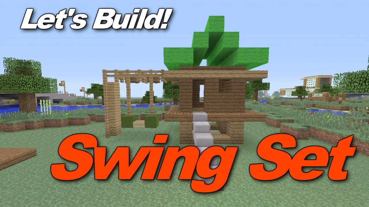Minecraft Bedroom Ideas Xbox 360 minecraft xbox 360: how to build a swingset/jungle gym! (gameplay