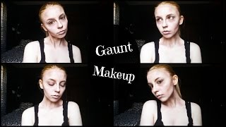 Gaunt/Sunken Face Makeup | Tutorial