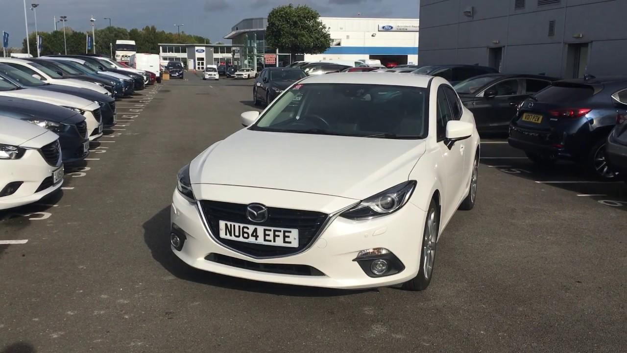 Used Mazda 3 2.0 Sport Nav 4dr White 2014