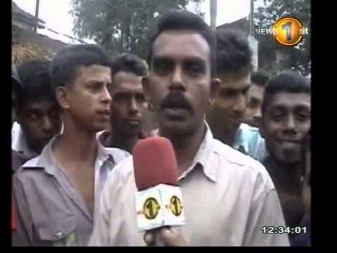 MTVsports Newsfirst 12.30PM News 18th July 2013 Avissawella-Colombo bus route workers' strike