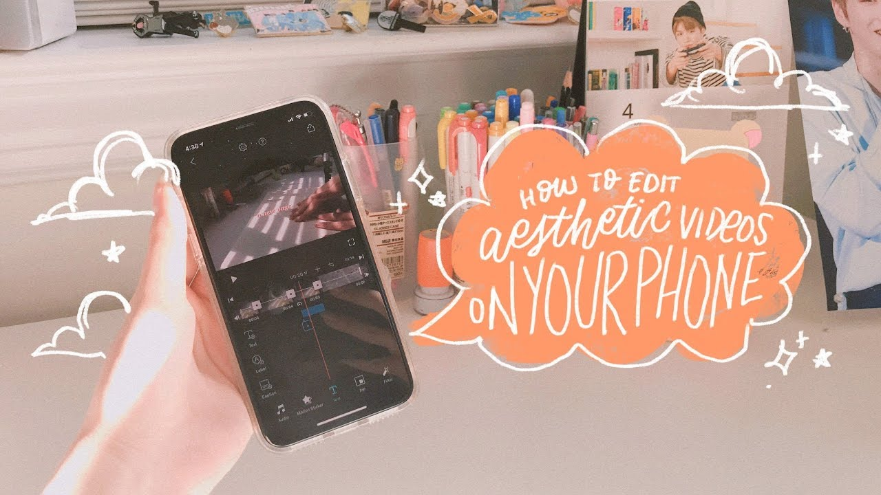 How To Edit Aesthetic Videos On Your Phone Youtube