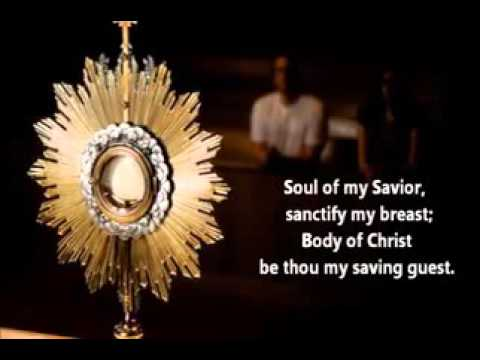 Blessed sacrament song