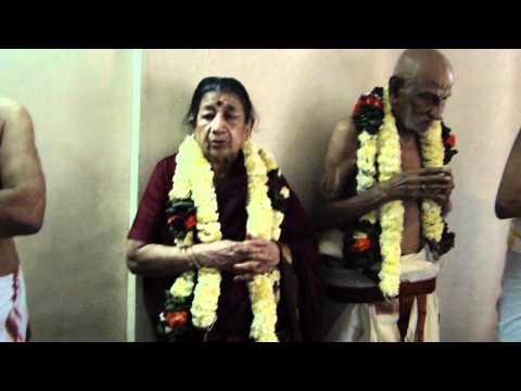 CHAIRMAN SRI KRISHNA SABHA SRI R S PATRACHARIAR NAVATHI APTHA POORTHI