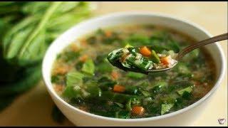 Щавелевый суп Soup of sorrel