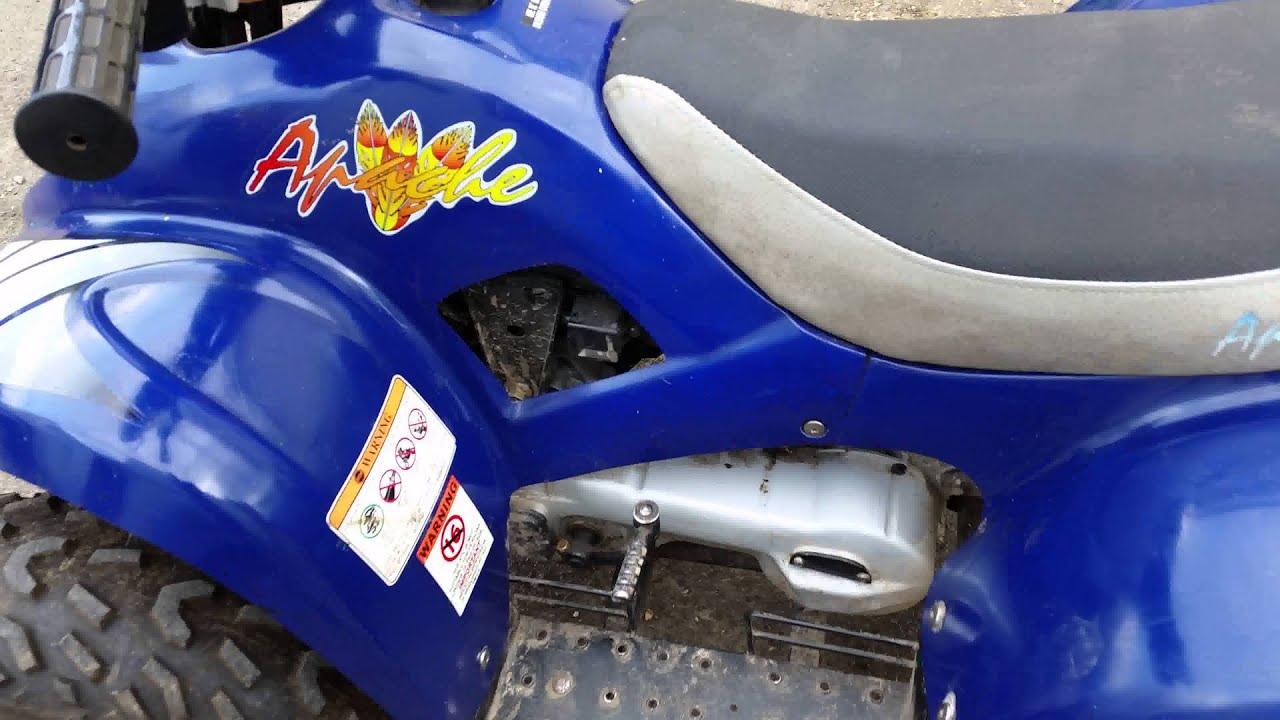 Apache 4 Stroke 250 Cc Quad Bike For Sale   U00a3550 Ovno