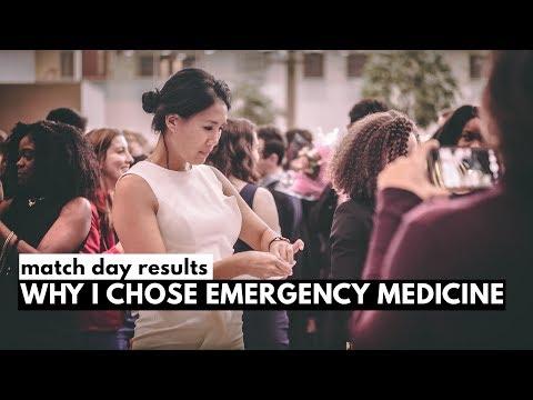 WHY I CHOSE EMERGENCY MEDICINE! (match day 2018)
