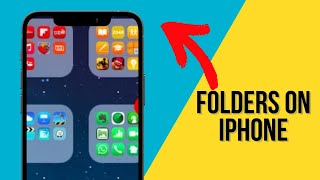 How to Create a Folder on Your iPhone X, iPhone 8 and Older Models | iPhone For Beginners