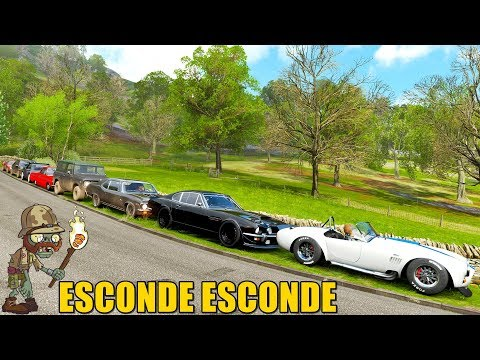 ESCONDE ESCONDE DE ZUMBI - FORZA HORIZON 4 - GAMEPLAY thumbnail