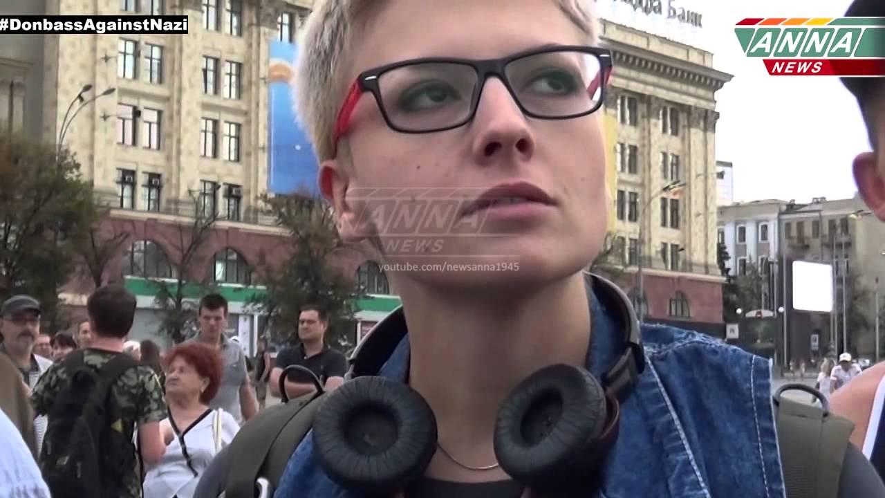 Чуть не разорвали русскую