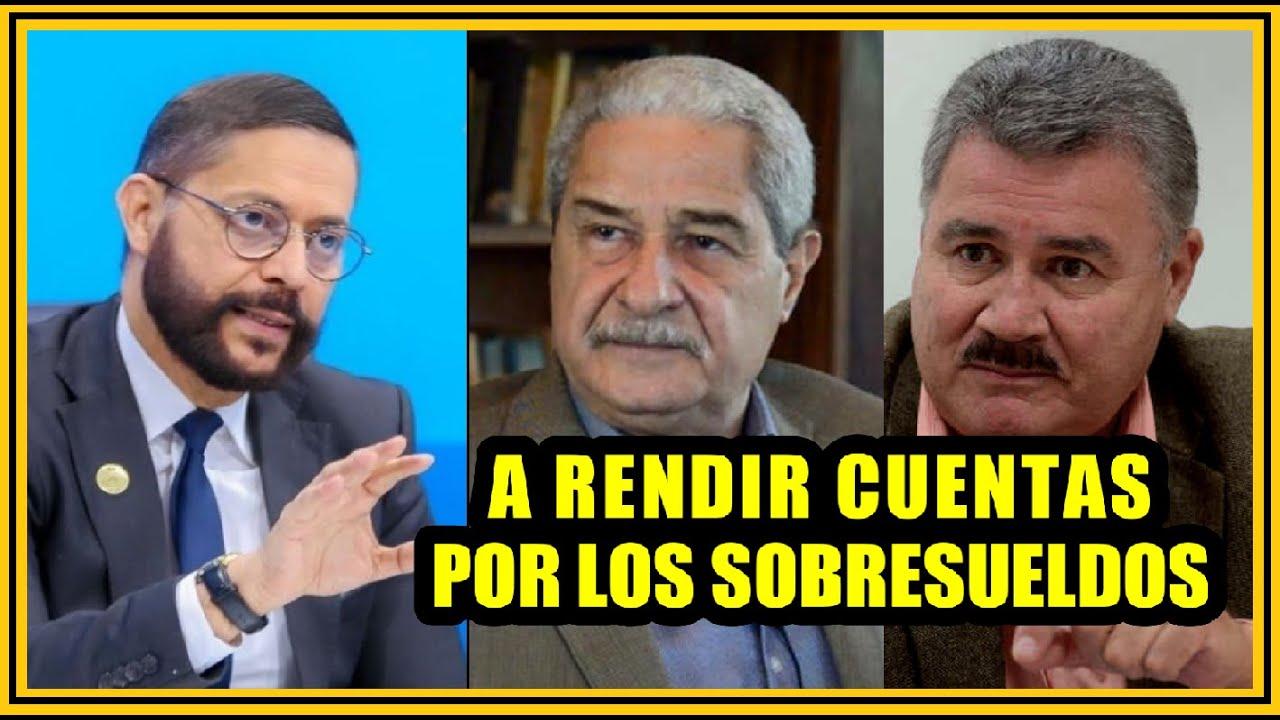 Download A RENDIR CUENTAS POR SOBRESUELDOS: Roberto Rubio y Salvador Samayoa