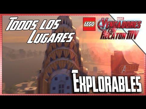 LEGO Marvel Avengers | Zonas Explorables